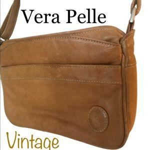 VTG Vera Pelle Soft Italian Leather Crossbody